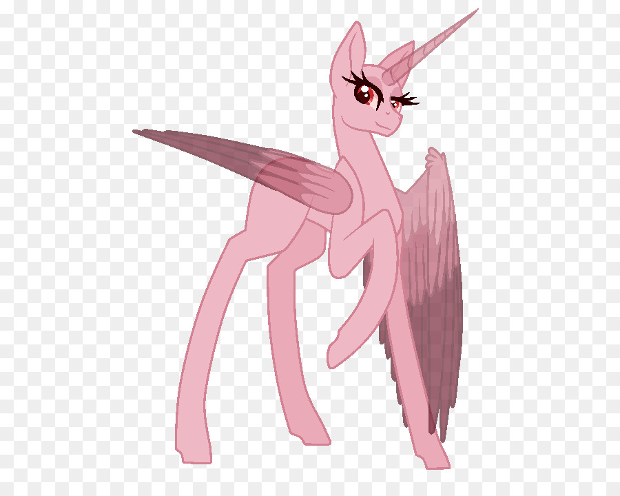 Pony Prinzessin Luna Deviantart Geflügeltes Einhorn Mlp Base Png