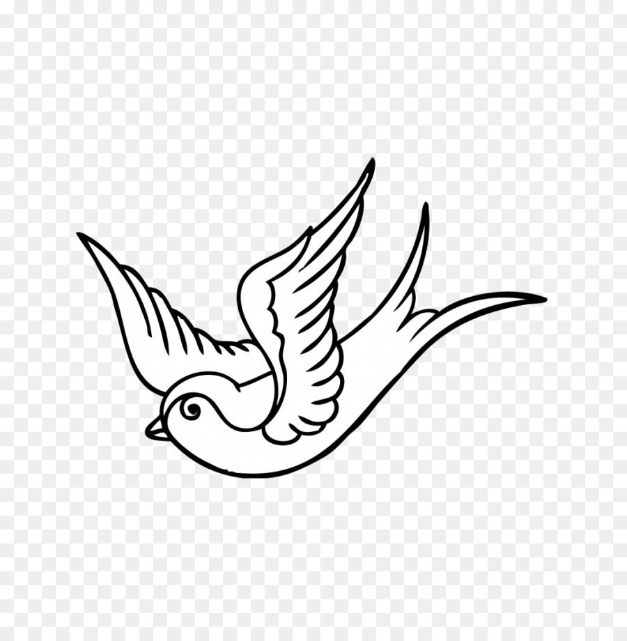 Tragar tatuaje Colombe Dibujo para Colorear libro - solo dios me ...