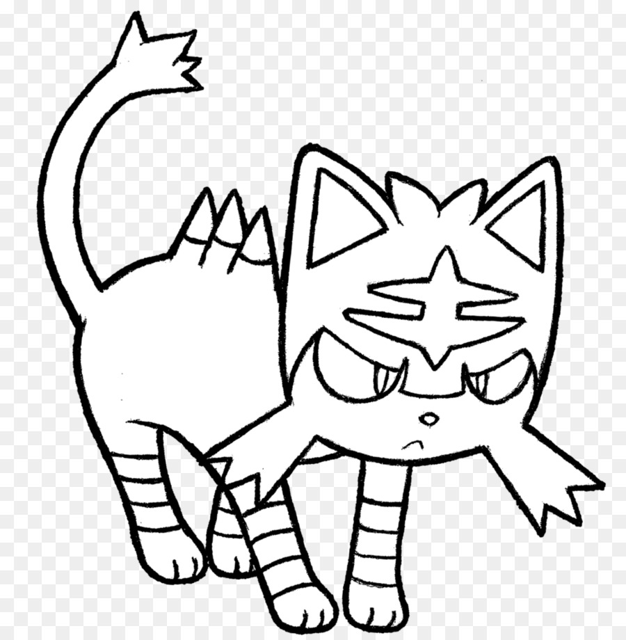 Coloring book Whiskers Colouring Pages Pokémon Sun and Moon - pyssla ...