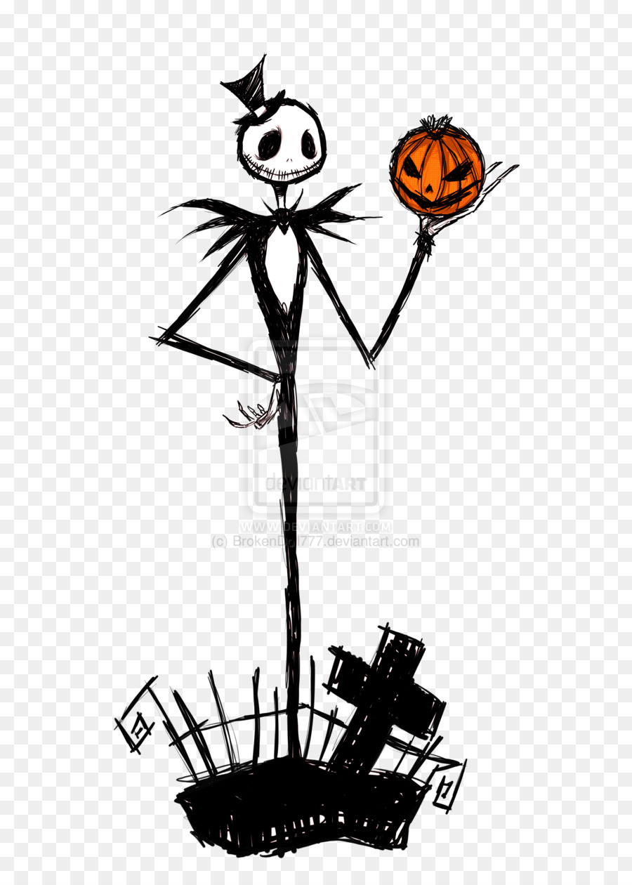 Jack Skellington Drawing Clip art Image DeviantArt - nightmare ...