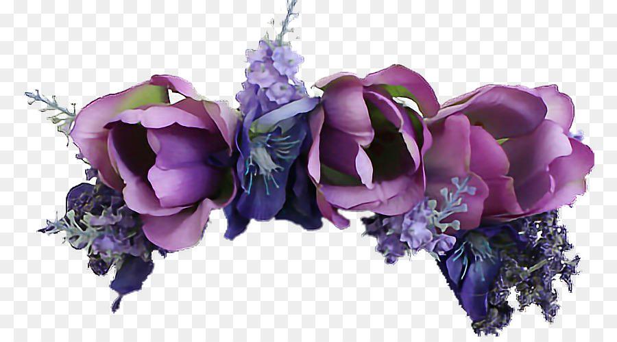 Cut flowers Flower bouquet Artificial flower Blue - flower png ...