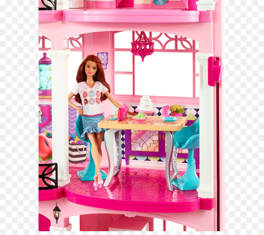 Barbie Dollhouse Toy Barbie Png Download 1715 1500 Free