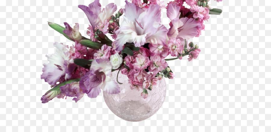 Flower Bouquet Gladiolus Vase Blume Flower Png Download 630428