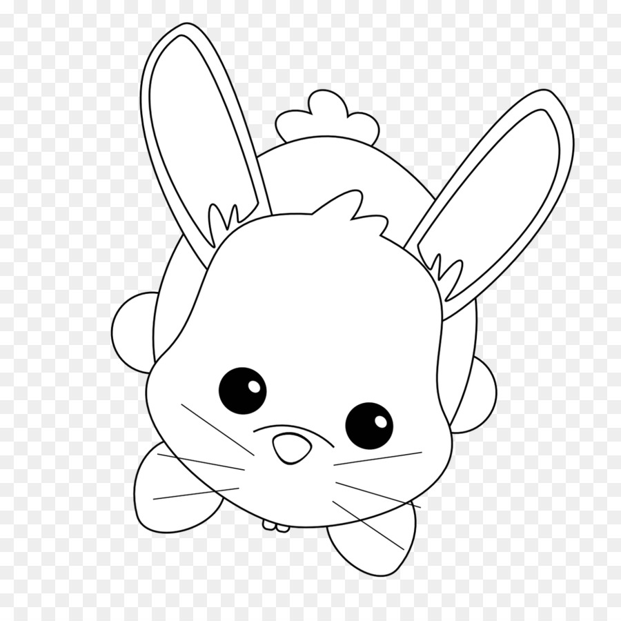 Rabbit Easter Bunny Coloring book Child Hare - rabbit png download ...