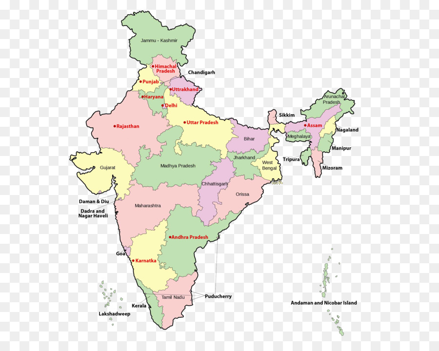 India World map Blank map Country - India png download - 2560*1993 ...