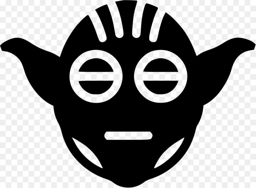 Yoda Black And White png download - 980*718 - Free Transparent Yoda