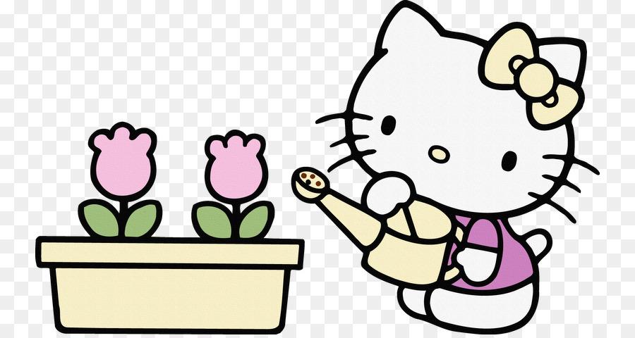 Hello Kitty Zeichnung Bild Kind Malbuch - Kind png herunterladen ...