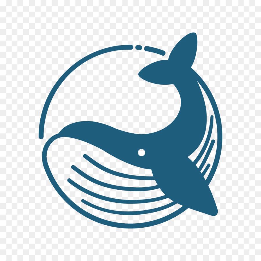 Inicial de la moneda que ofrece la ballena Azul Blockchain Airdrop ...