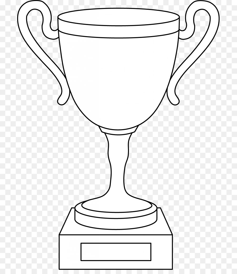 Coloring Book Trophy Table Glass Clip Art Award