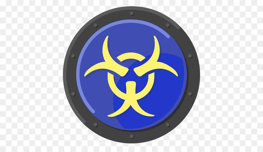 Biological Hazard Hazard Symbol Vector Graphics Blue Symbol Png