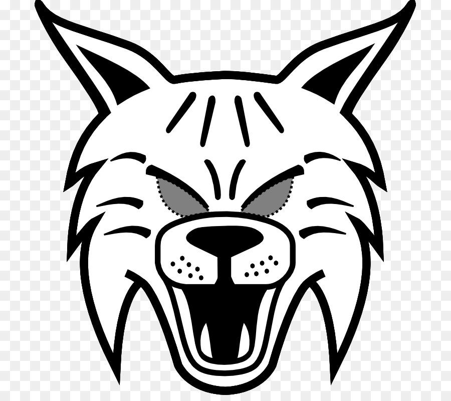 Bobcat Whiskers Drawing Mask Image - mask png download - 761*788 ...