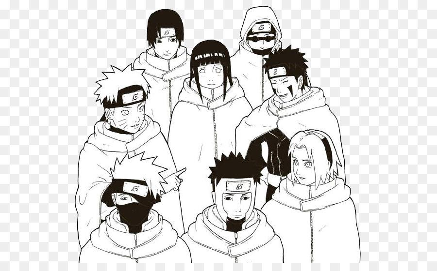 Sakura Haruno Sasuke Uchiha Kakashi Hatake Noir Et Blanc Naruto