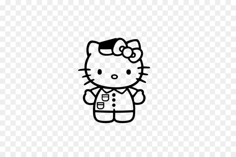 Camiseta de Hello Kitty para Colorear libro de la etiqueta Engomada ...