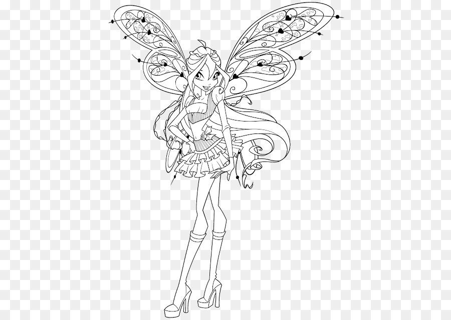 Coloring Book Drawing Winx Club Mission Enchantix Pencil Vampire