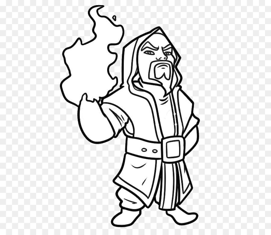 clash of clans imagem de desenho mágico esboço clash of clans