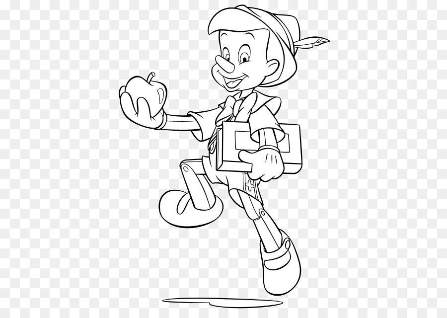 Las Aventuras de Pinocho, Geppetto Figaro libro para Colorear ...