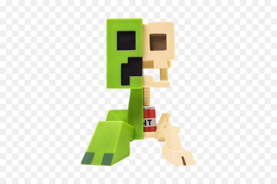 JINX Minecraft Creeper Anatomía de Vinilo Figura Kit de JINX ...