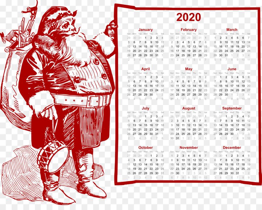 2020 Christmas Calendar others png download   2400*1875   Free Transparent 2020 Calendar