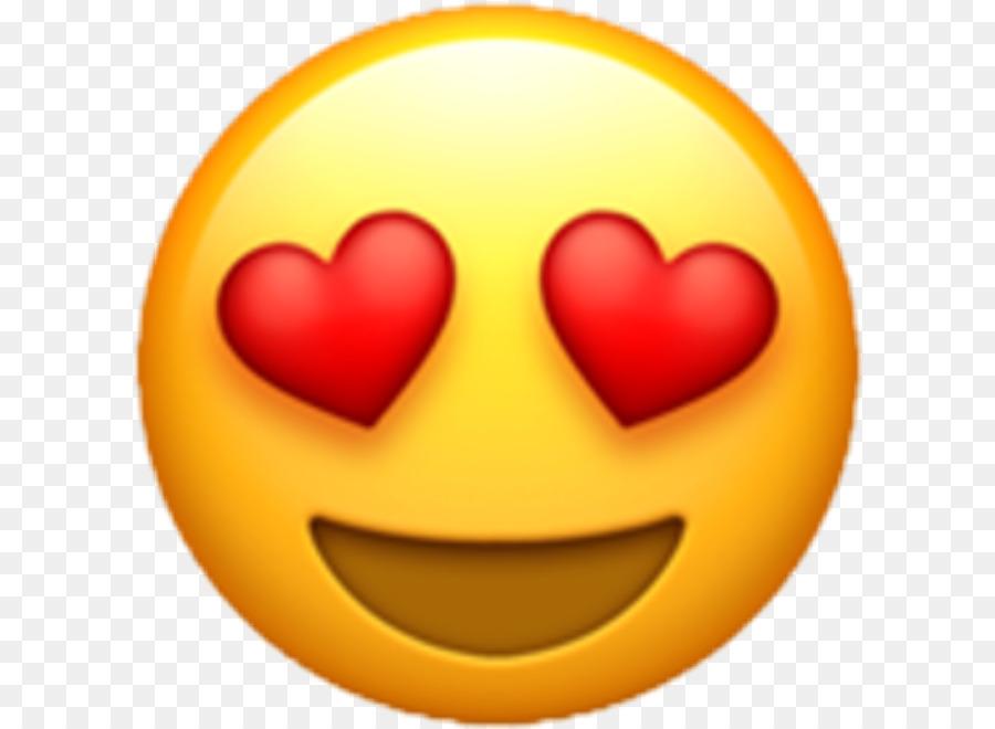 Emoji De Corazón Pegatina Amor Smiley