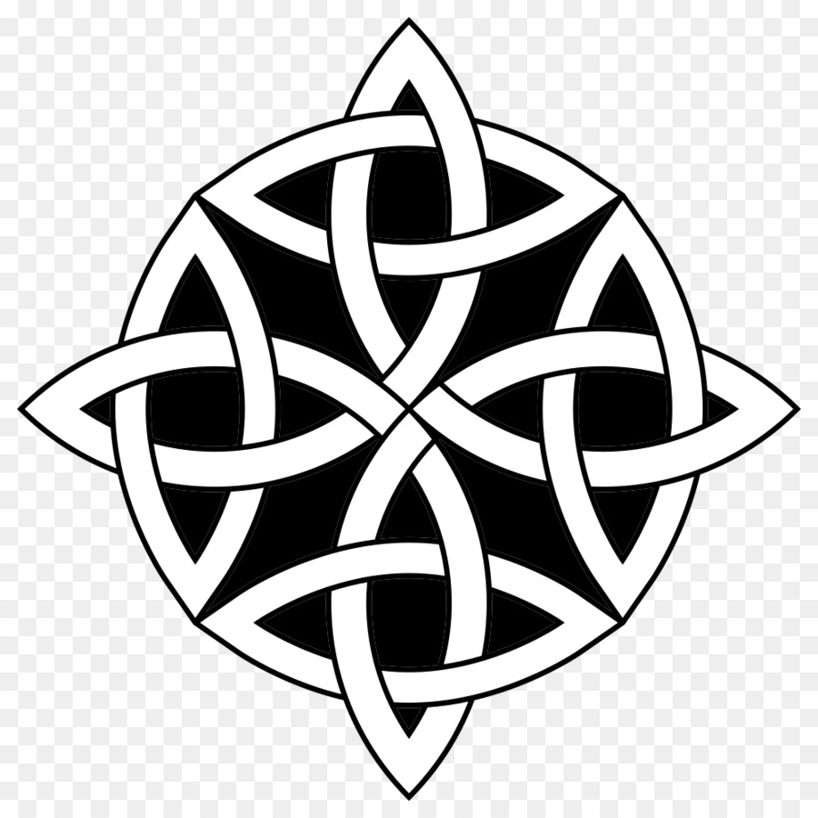 Celtic Knot Tattoo Religious Symbol Triquetra Symbol Png Download