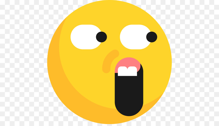 Shocked emoji text