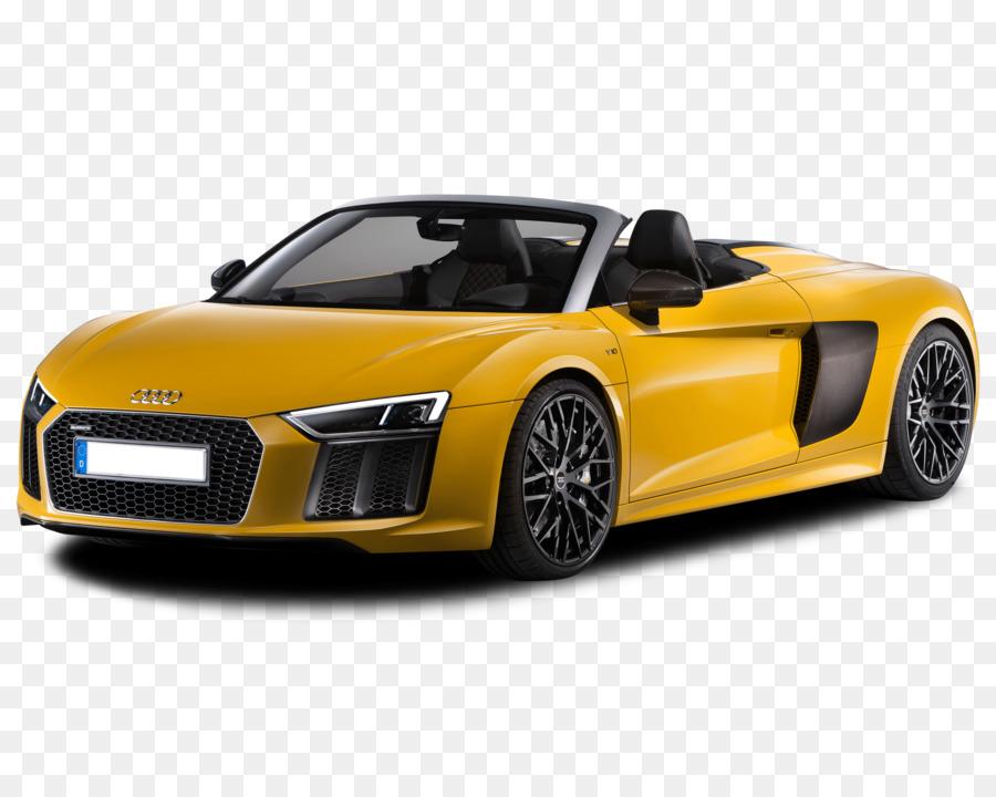 2018 Audi R8 5 2 V10 Plus Car V10 Engine Audi Png Download 3734