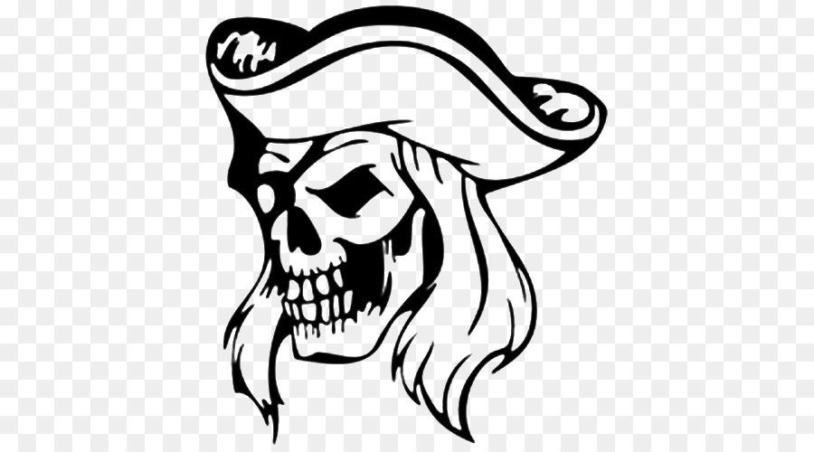 Pirata del Cráneo de la etiqueta Engomada libro para Colorear de ...