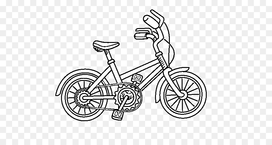 Drawing Bicycle Coloring book Image Painting - Bicycle png download ...