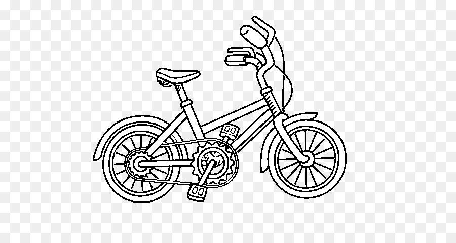 Dibujo de Bicicletas libro para Colorear, Imagen de la Pintura ...