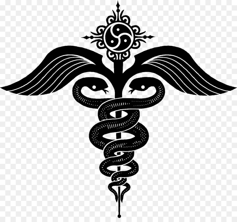 Staff Of Hermes Caduceus As A Symbol Of Medicine Snakes Serpent
