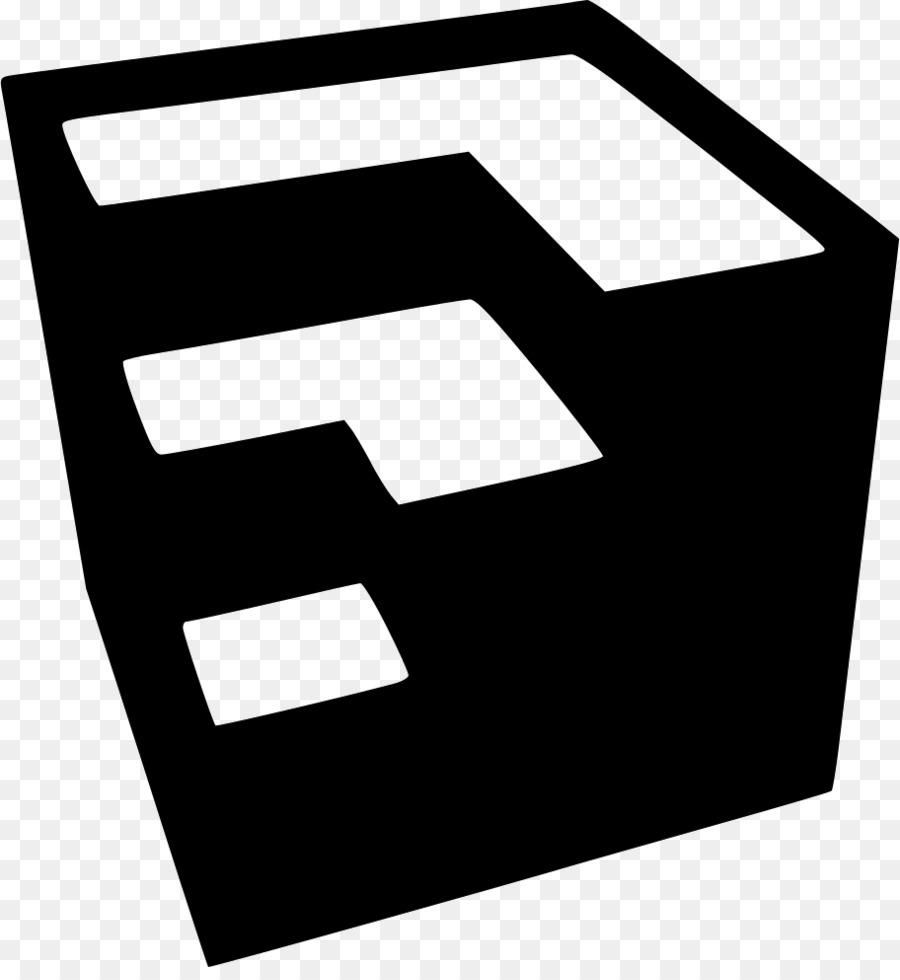 Sketchup Black png download - 912*980 - Free Transparent Sketchup