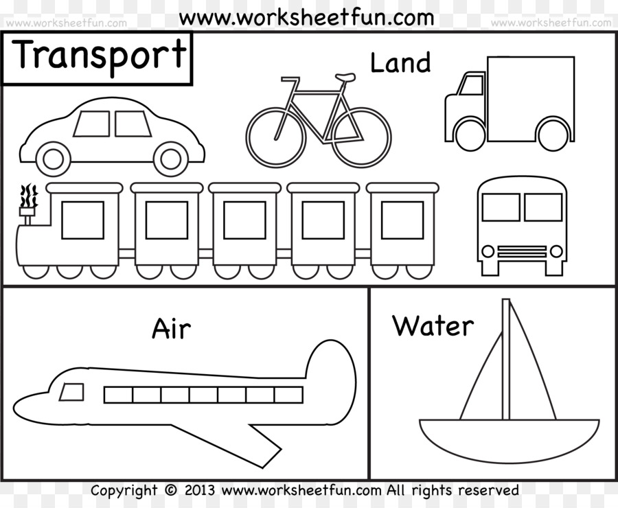Buku Mewarnai Halaman Mewarnai Air Transportasi Kereta Api Kereta