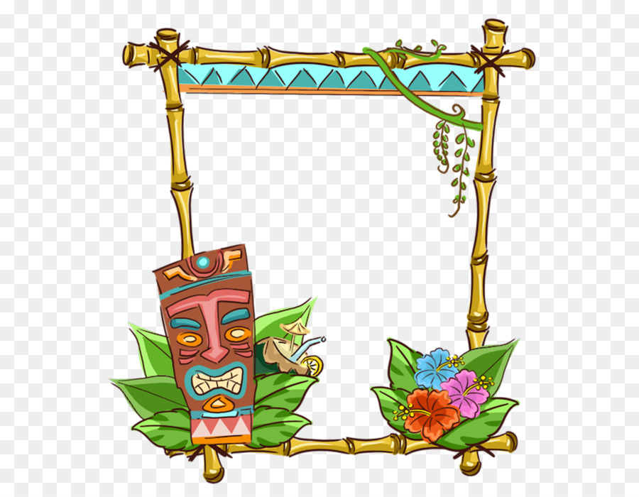 Hawaii Clip Art Picture Frames Borders And Frames Image Frame Bird