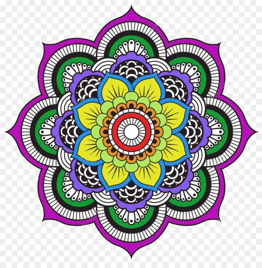 Mandala para Colorear Libro Mandala Libro para Colorear, Páginas ...