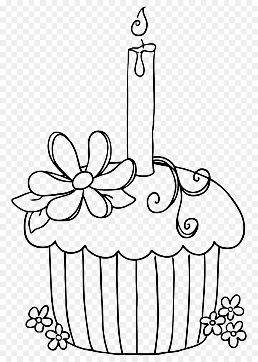 Cakes and Cupcakes Cakes & Cupcakes Colouring Pages Coloring book ...