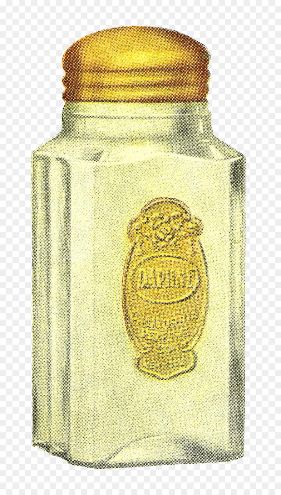 affiche de la bouteille en verre de clip art illustration design