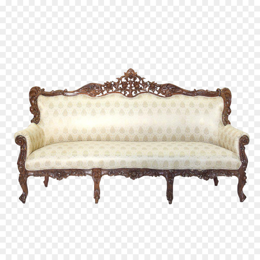 Couch Loveseat Antique Furniture Table   Antique