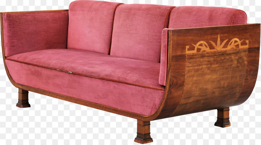 Couch Loveseat Daybed Furniture Divan Sofa Top View Png Download