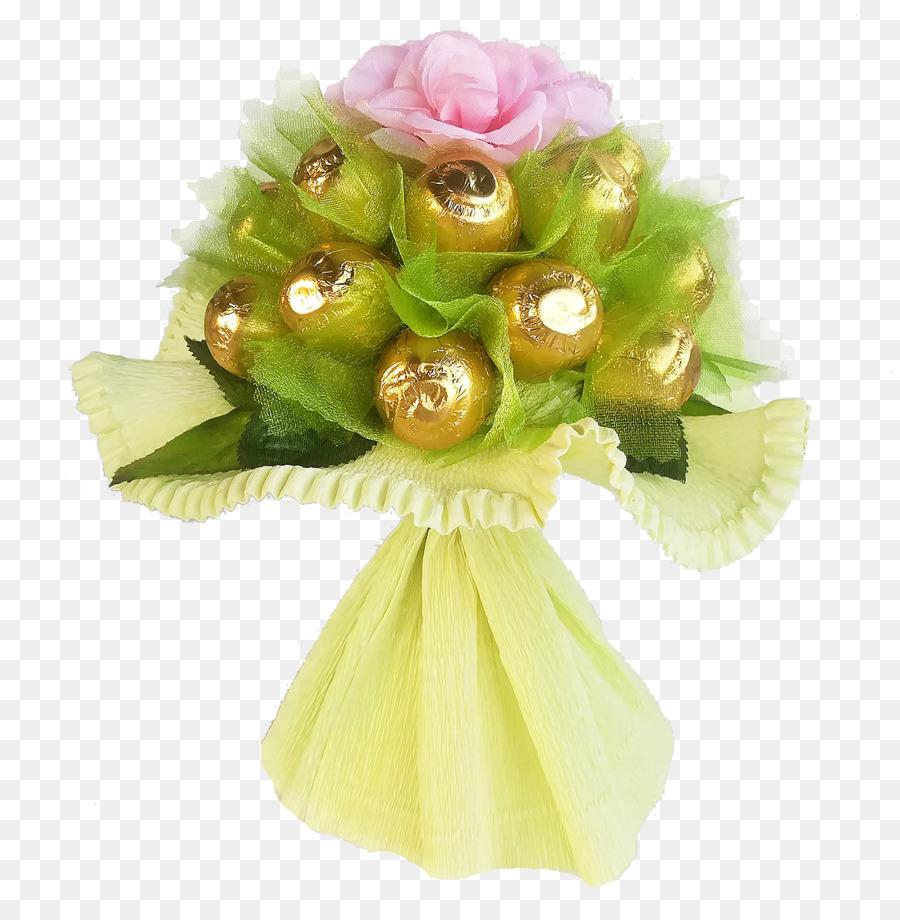 Ferrero Rocher Gift Flower bouquet Lollipop Birthday - gift png ...