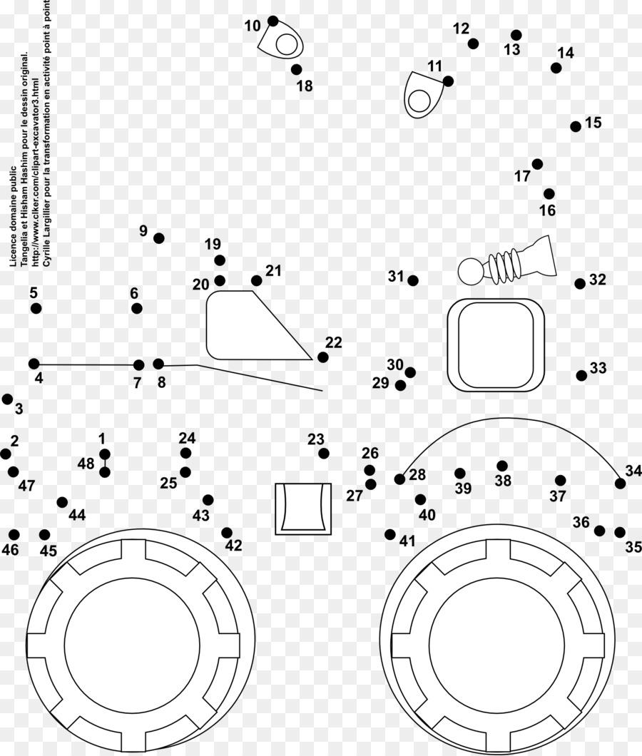 Libro para colorear de Dump truck Coche Dumper de Dibujo - coche png ...