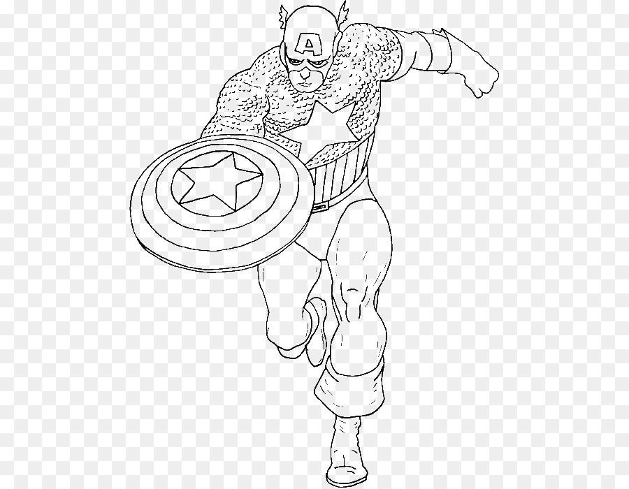 Captain America United States of America Spider-Man Colouring Pages ...