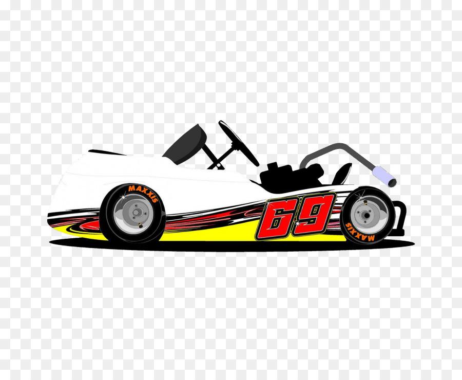 Kart Racing Go Auto Decal