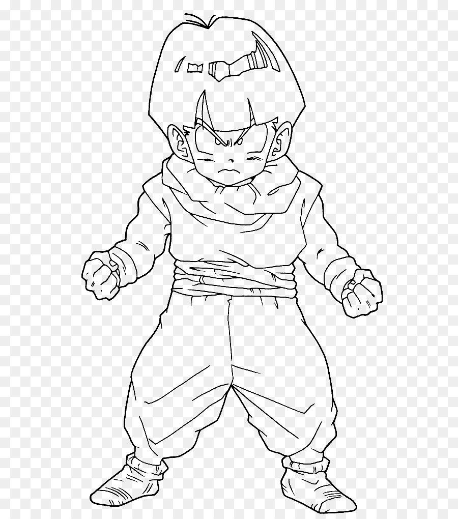 Gohan Goku Boyama Kitabı Sayfaları Süper Saiyan Boyama Goku Png
