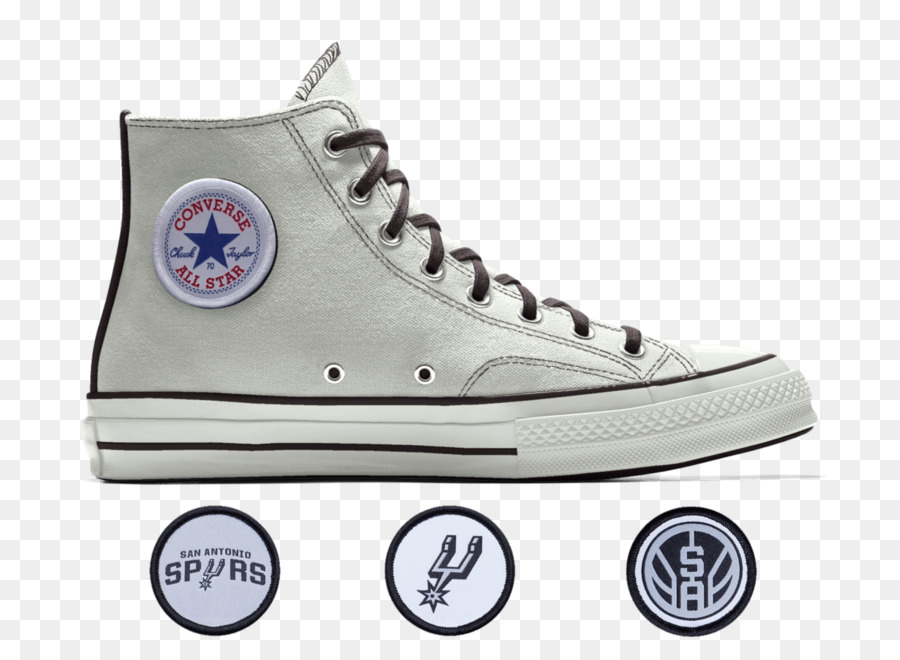 45a444afb3e7 San Antonio Spurs Sneakers NBA Converse Chuck Taylor All Star  70 Hi Chuck  Taylor All-Stars - san antonio spurs png download - 1500 1098 - Free  Transparent ...