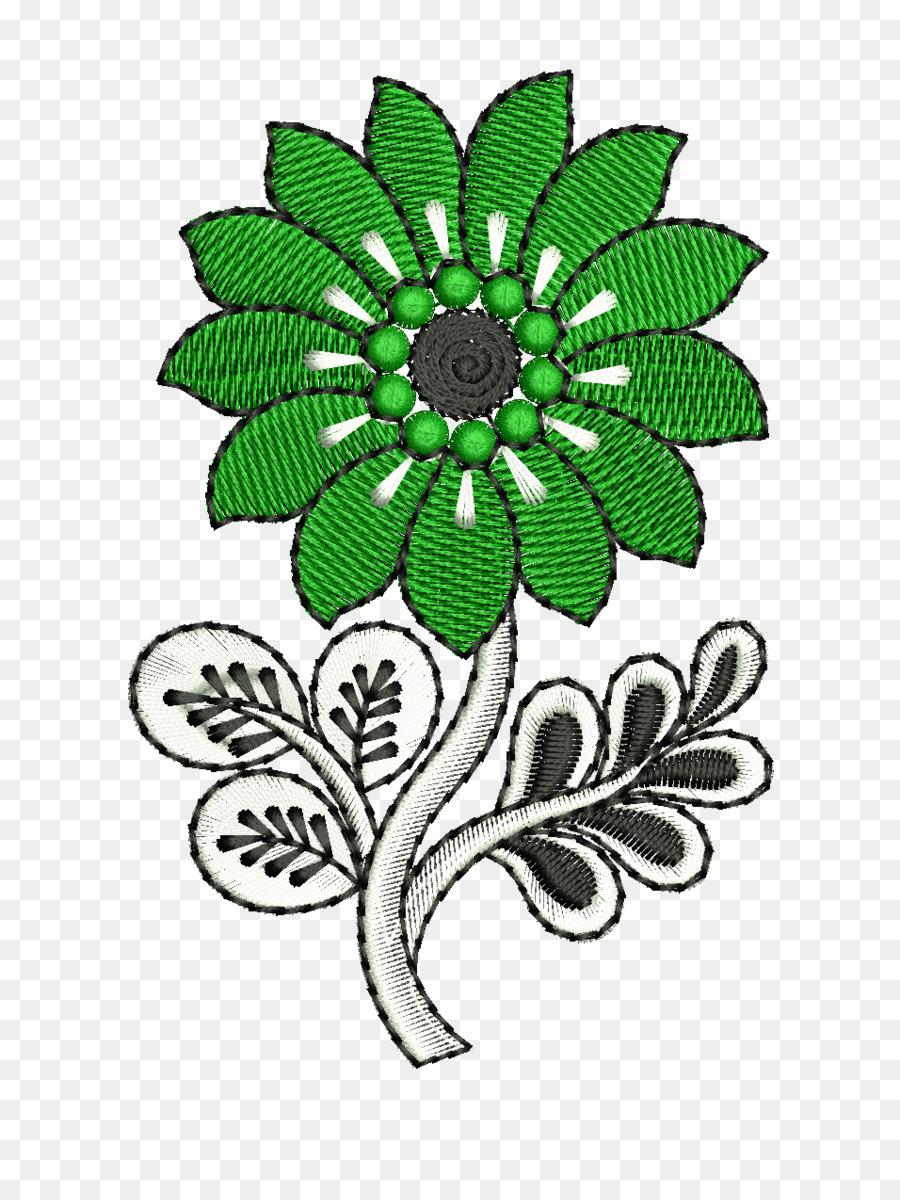 Floral Design Flower Embroidery Pattern Design Png Download 956