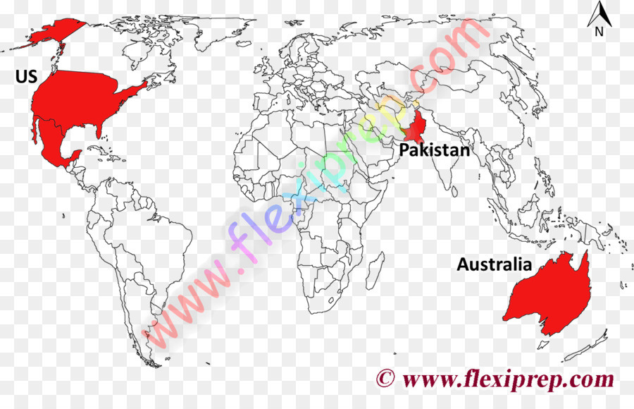 World map World Political Map Country - world map png download ...
