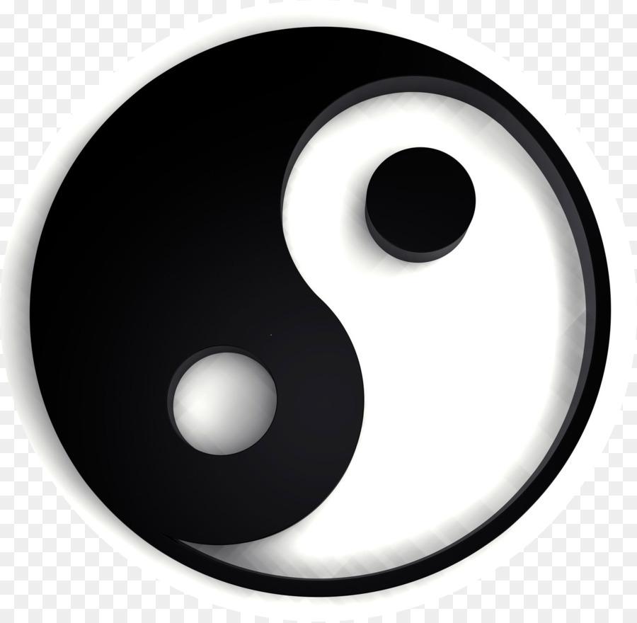 Yin And Yang Symbol Kung Fu Logo Feng Shui Symbol Png Download