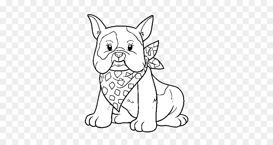 French Bulldog Georgia Coloring book Illustration - puppy png ...