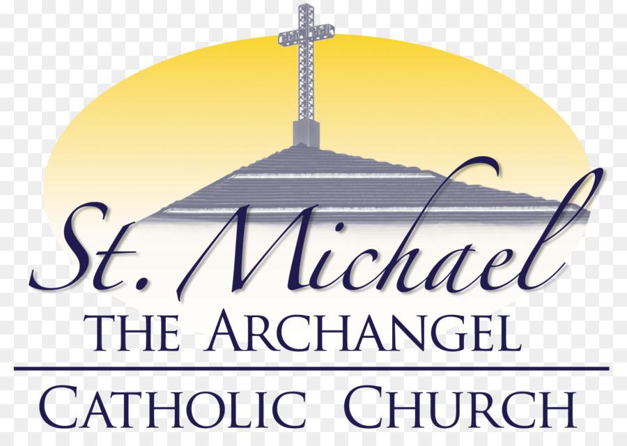 Michael Archangel Logo Saint Catholic Church St Michael Png