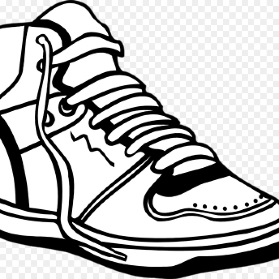 Sports Shoes Vector Graphics Clip Art Cross Country Running Shoe
